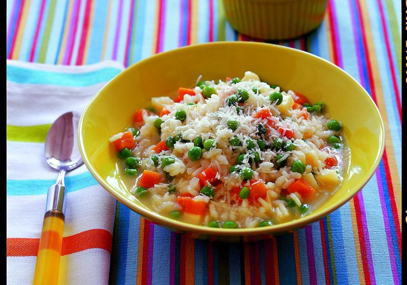 Krémové zeleninové rizoto