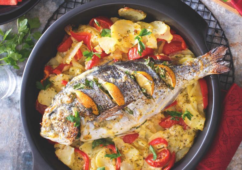 Ryba pečená v majonéze