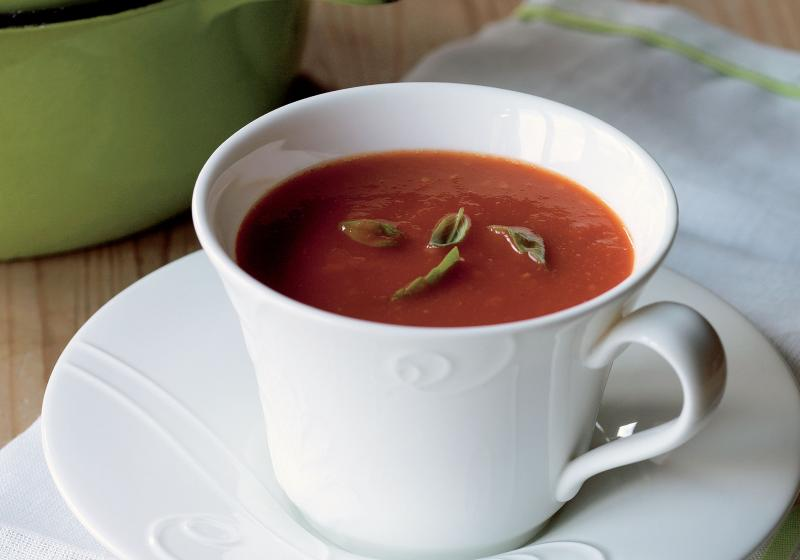 Rychlá rajčatová polévka