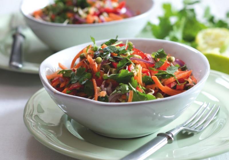 Rychlý kuřecí salát