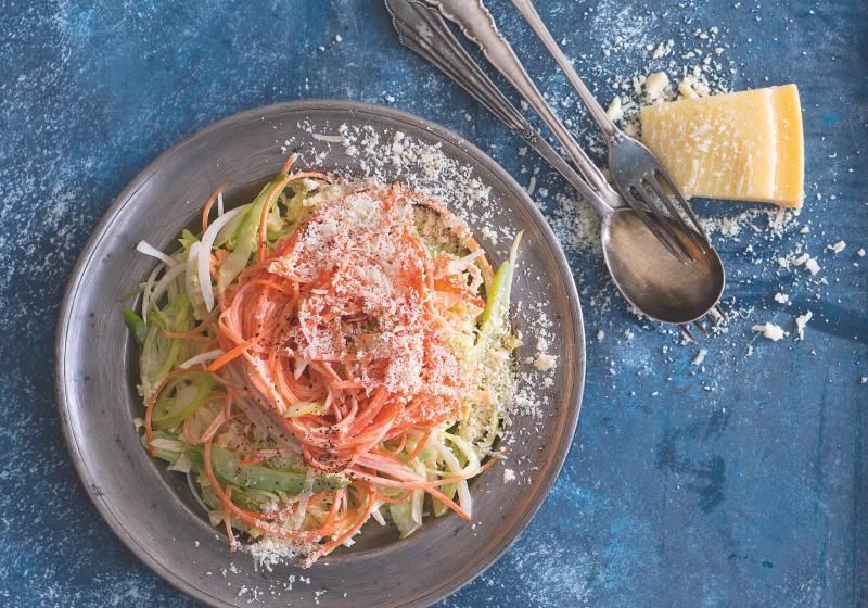 Salát Coleslaw s parmazánem