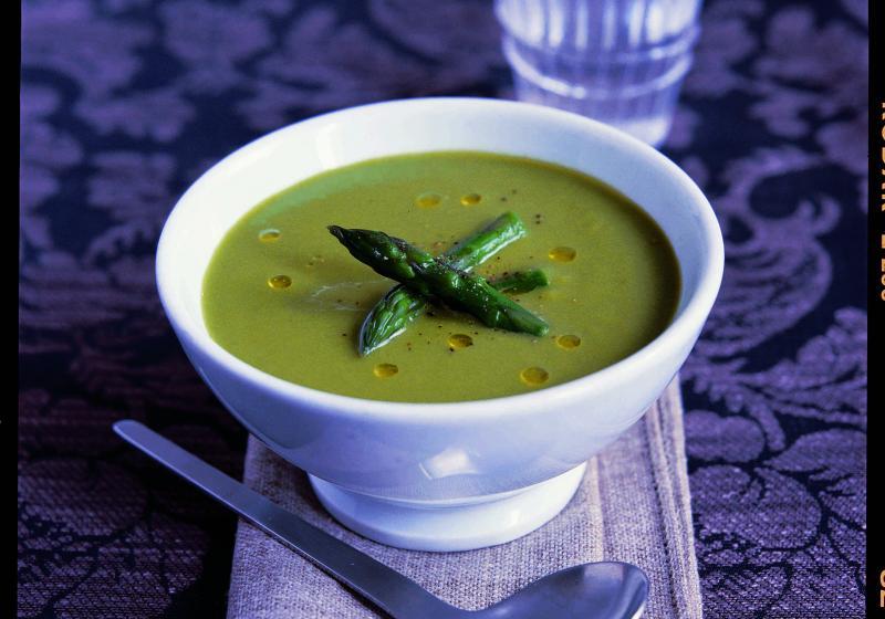 Klasická chřestová polévka