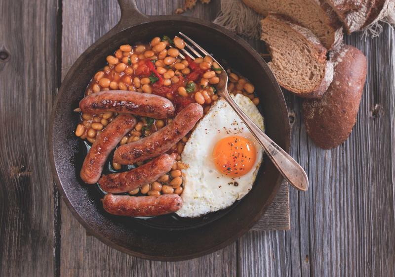 Snídaně v anglickém stylu