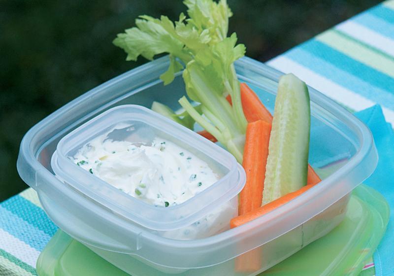 Sýrová pochoutka se zeleninou