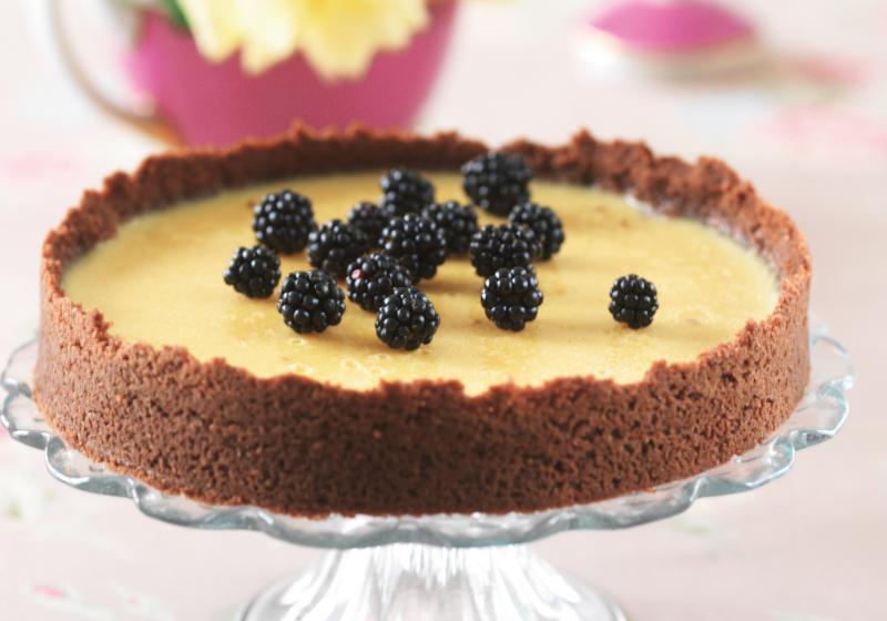 Vanilkový koláč z podmáslí