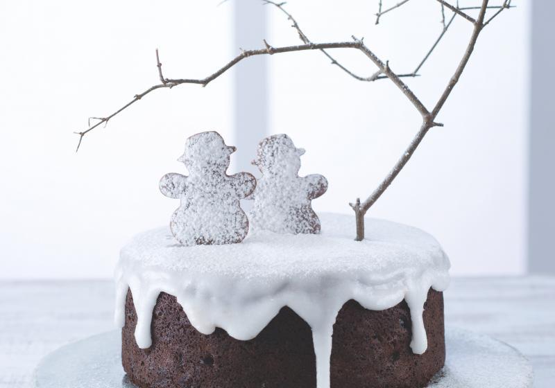 Vánoční dort inspirovaný Nigellou Lawson