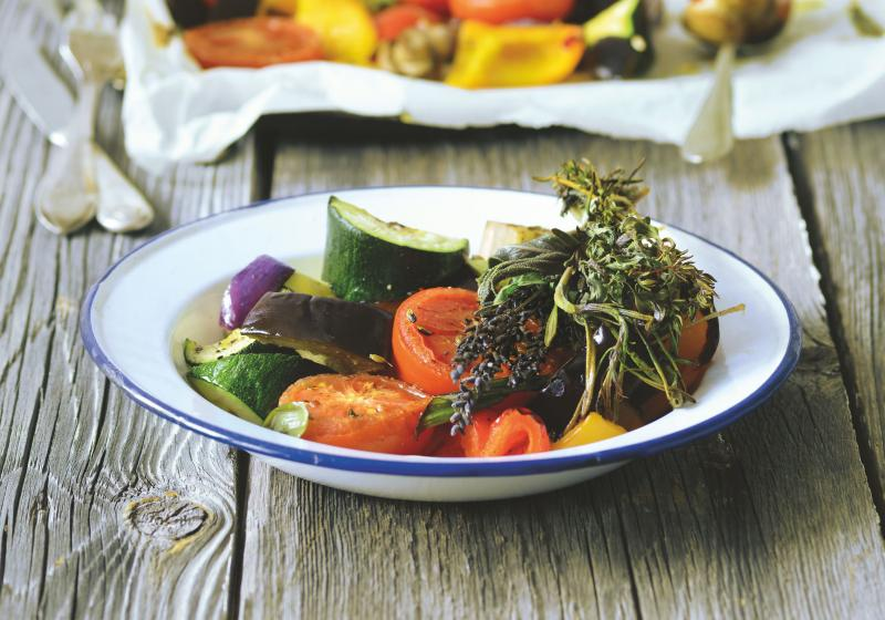 Zelenina pečená v troubě