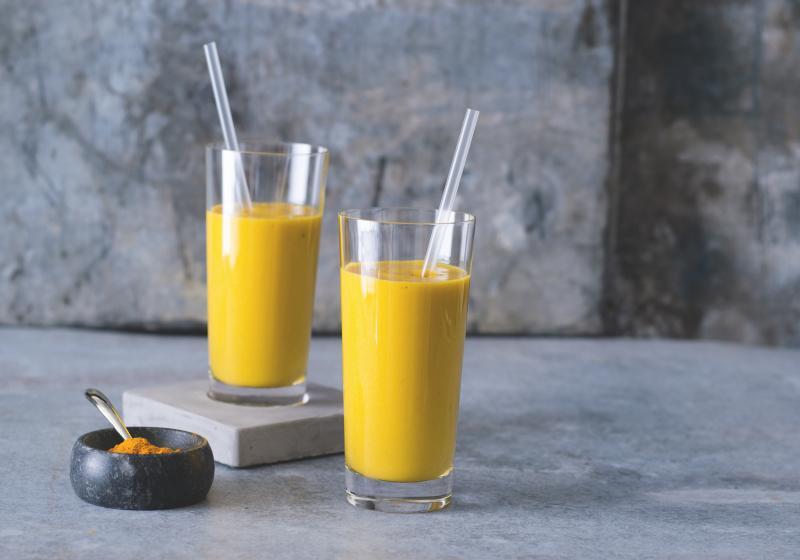Žluté smoothie