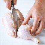 Porcování kuřete